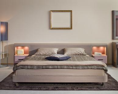 Красив и модерен интериорен дизайн за спалня