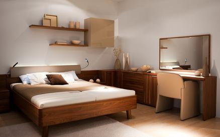 Спалня, светъл цвят
