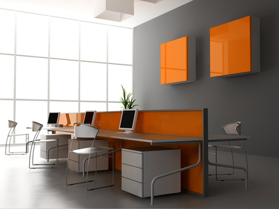 Модерен офисен интериор