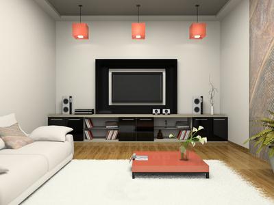 Холни мебели. Зона за домашно кино
